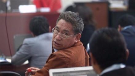Poder Judicial redujo penal de Miguel Facundo Chinguel de 13 a 9 años