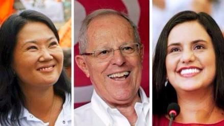 Keiko Fujimori, PPK y Verónika Mendoza son los políticos más confiables, según encuesta