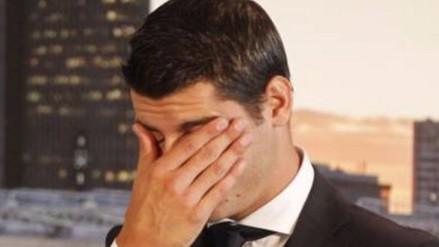 Real Madrid: Álvaro Morata lloró en su vuelta al Bernabéu