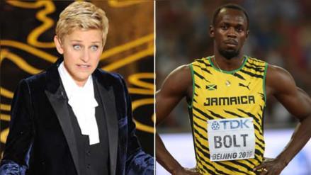 Twitter: acusan a Ellen DeGeneres de racista por foto con Usain Bolt