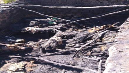 Urubamba: niña de ocho años muere calcinada en choza