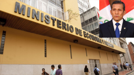 MEF pidió evaluar cuentas fiscales que dejó gobierno de Ollanta Humala
