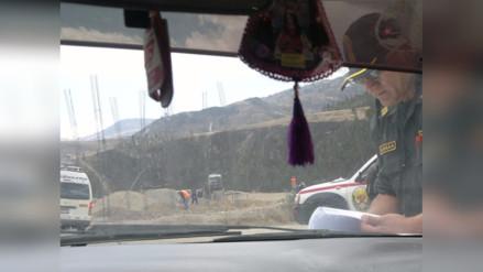 Otuzco: asaltan a pasajeros cuando iban a aniversario de Huamachuco