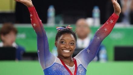 Río 2016: Simone Biles cerró su participación con 4 medallas de oro