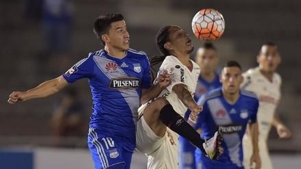 Universitario cayó 3-1 ante Emelec y fue eliminado de la Copa Sudamericana