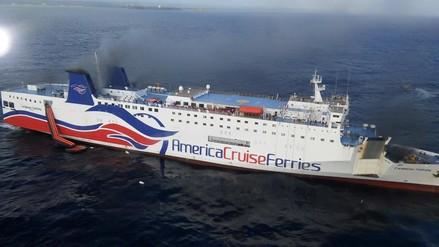 Video: así evacuaron a pasajeros de crucero que se incendió en Puerto Rico