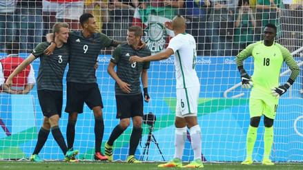 Río 2016: Alemania venció 2-0 a Nigeria y disputará la final ante Brasil