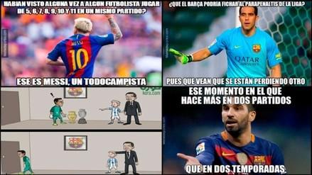Facebook: Barcelona acapara memes tras adjudicarse la Supercopa de España