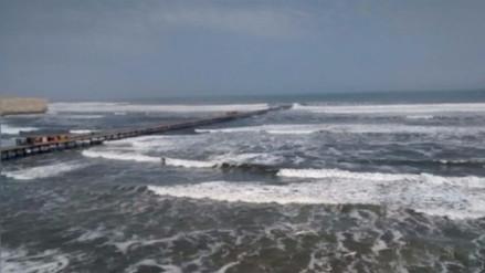 Disponen el cierre de puertos y caletas en Pisco por oleajes