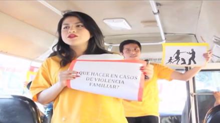 YouTube: universitarios enseñan derechos básicos en el transporte público