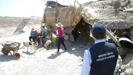 Operativo contra la minería ilegal dejó ocho detenidos en Nepeña