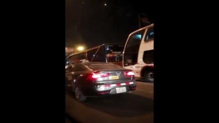 Carretera Central: frecuente congestión genera malestar en conductores