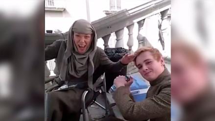 Instagram: elenco de Game of Thrones juega a adivinar en el set