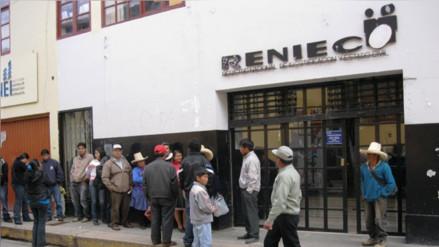 Reniec - Cajamarca inició entrega de DNI electrónico