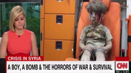 Facebook: la historia del pequeño Omran conmovió a esta periodista en vivo
