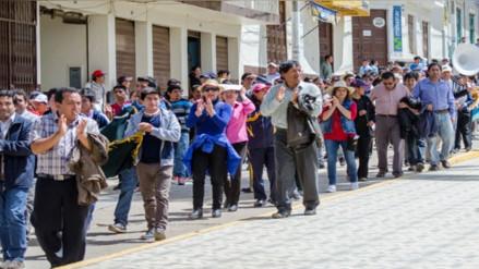 Pobladores del Marañón acatan paro de 24 horas por tarifas eléctricas