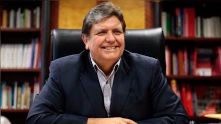 Alan García agradeció a Fernando Zavala por mencionarlo en su discurso