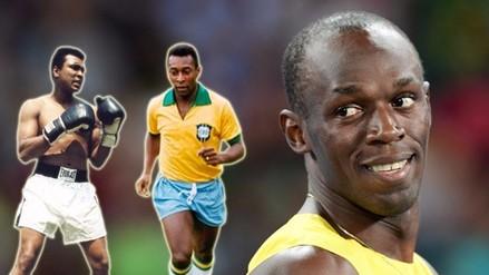 Río 2016: Usain Bolt se inspira en Mohamed Ali y Pelé para ser grande