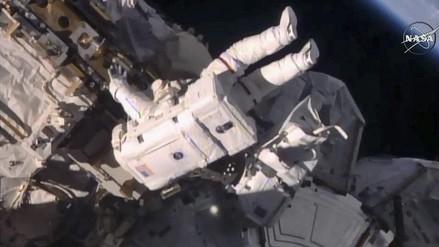 Instalan en la Estación Espacial un atracadero para naves privadas