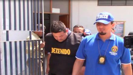 Piura: traen de Lima a dos detenidos de banda
