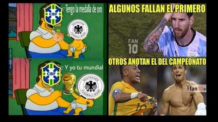 Facebook: Brasil protagoniza memes tras ganar su primera medalla de oro