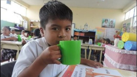 Trujillo: niños del vaso de leche serán beneficiados con leche fresca