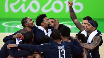 Río 2016: Estados Unidos aplastó a Serbia y ganó medalla de oro en básquet