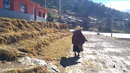 Vientos huracanados afectan a población de Uyurpampa