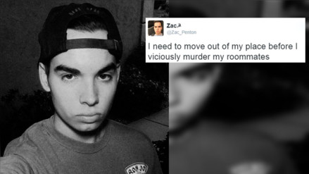 Mata a su compañero de cuarto luego de haberlo anunciado en Twitter
