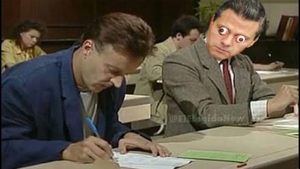 Twitter: Peña Nieto motiva sarcásticos memes por plagiar parte de su tesis