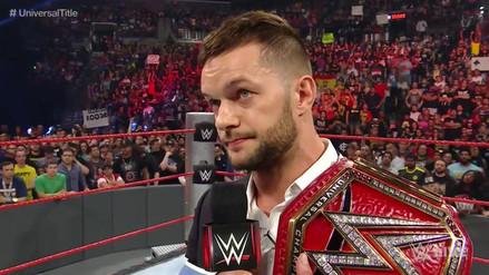 WWE: Finn Bálor se dislocó el hombro y dejó el Campeonato Universal