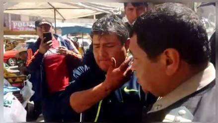 Juliaca: esposa defiende a fiscal denunciado por agresión