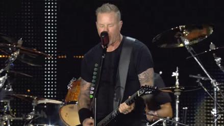 Video: Metallica debuta en vivo su nuevo single