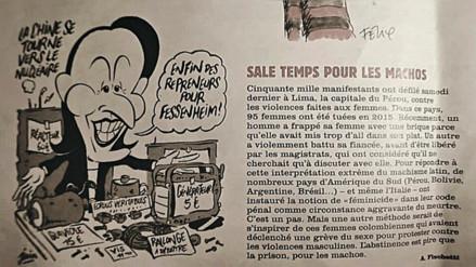 Charlie Hebdo dedicó artículo a la marcha