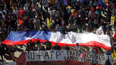 ¿Por qué en Chile protestan contra las AFP?
