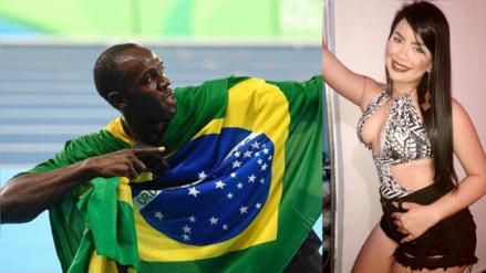 Facebook: la joven vinculada a Usain Bolt fue pareja de un narcotraficante