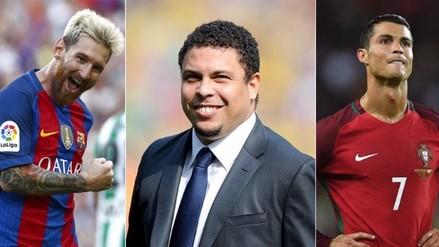 Ronaldo incluyó a Messi en su equipo ideal y dejó fuera a Cristiano Ronaldo