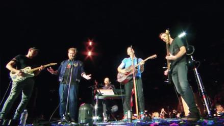YouTube: así fue el concierto que ofreció James Corden y Coldplay
