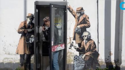 YouTube: desaparece un mural de Banksy durante la rehabilitación de una vivienda