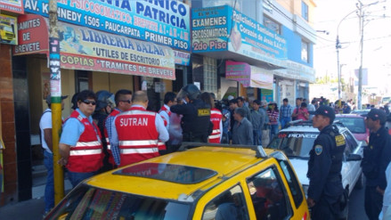 Sutran clausura escuelas de manejo y policlínicos por irregularidades