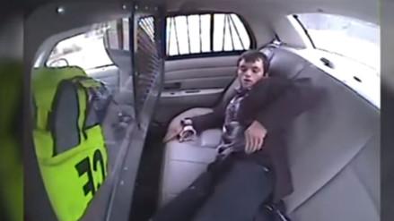 YouTube: detenido aprovechó un accidente vehicular para salir huyendo