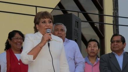 Chimbote: alcaldesa retoma sus funciones mañana