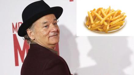 Reddit: Bill Murray, el actor al que le encanta robar papas fritas