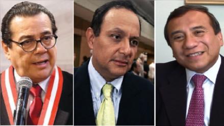 Uno de estos tres abogados será el nuevo Defensor del Pueblo