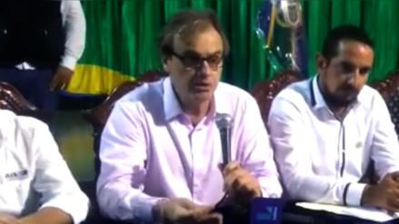 Ministro Basombrío se comprometió en apoyar a la policía de Tumbes
