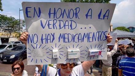 Venezuela: La escasez de medicamentos en los hospitales llega al 76%