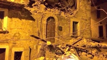 Sismo de 6,2 grados sacude Roma y el centro de Italia