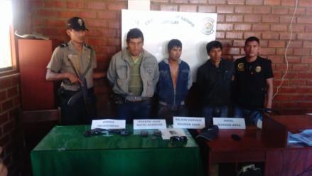 Satipo: policía frustra asalto a empresario cafetalero