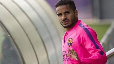Barcelona dispuesto a deshacerse de Douglas Pereira a toda costa