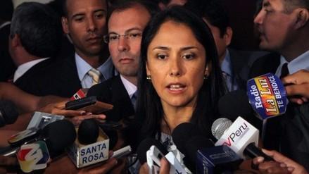 Fiscalización pedirá al Pleno facultades para investigar a Nadine Heredia